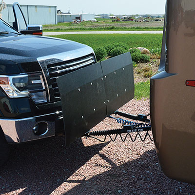 RV/Flat Towing - We specialize in Blue Ox, Demco, or Roadmaster RV/flat towing systems. Packages include base plates which mount on the front of the towed vehicle, electrical systems, tow bars, and braking systems.