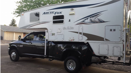 Camper Tie Downs - Get your Camper hooked up safely and securely to your truck with a custom fit tie down system made by Torklift or Billis. We also custom fabricate the more difficult to find systems for your truck.