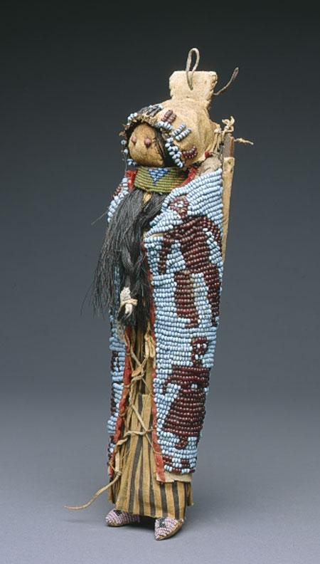 Rare Yakima Pony Beaded Doll