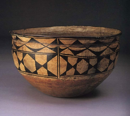 Kiva Polychrome Dough Bowl