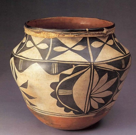 Polychrome Storage Jar