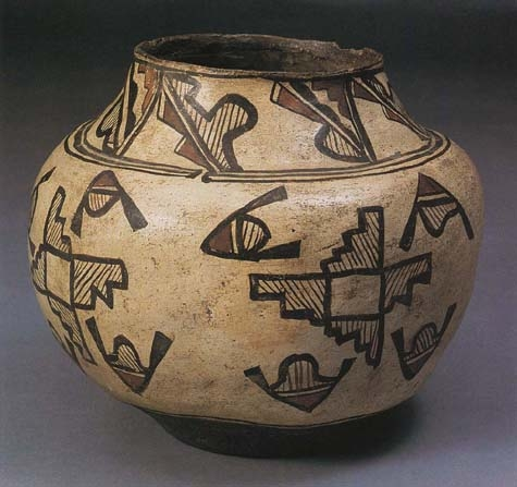 Zuni Polychrome Storage Jar