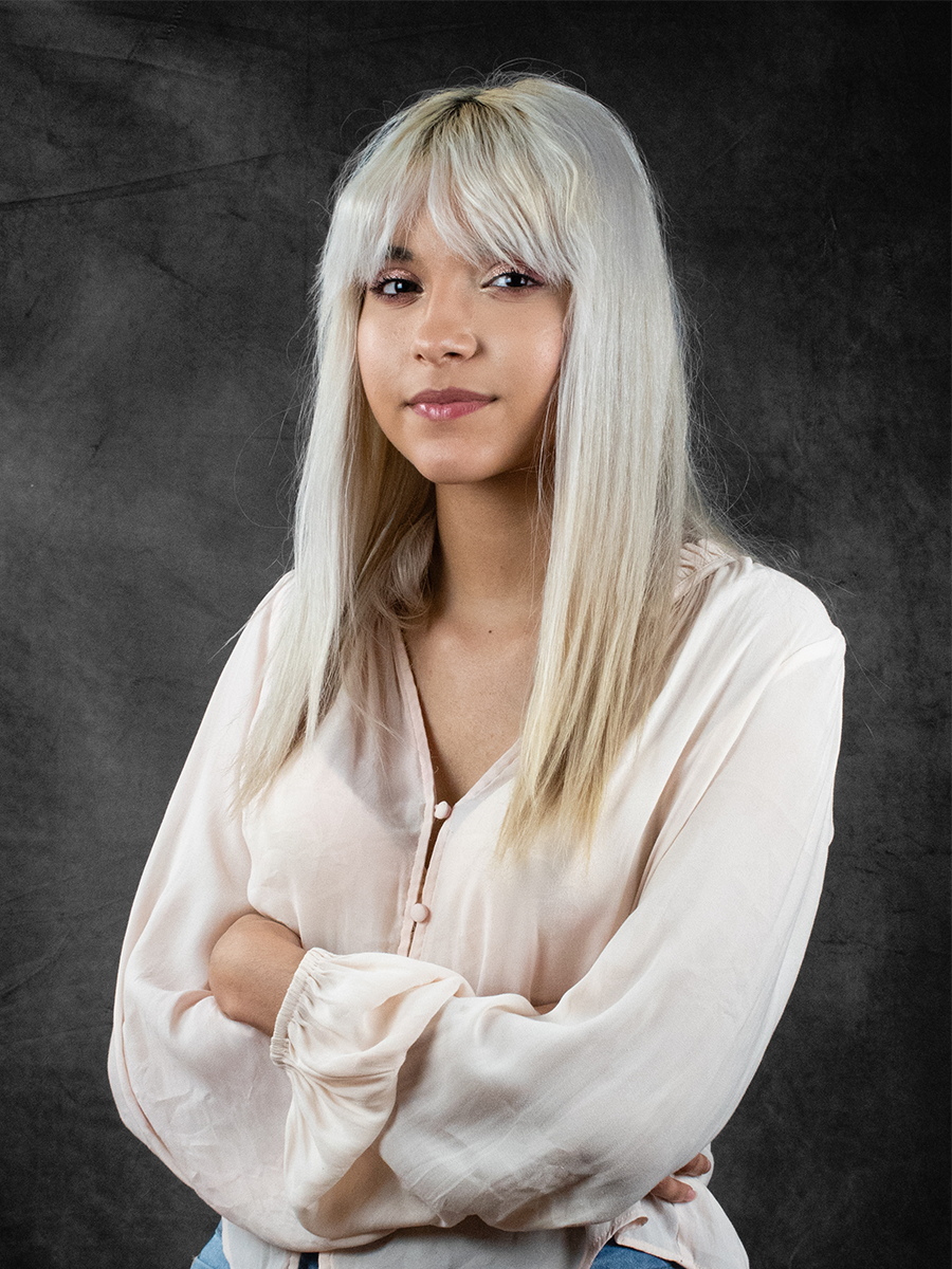 Jadelyn Molina - Social Media DirectorFreshman - PsychologyGames: Overwatch, Apex Legends