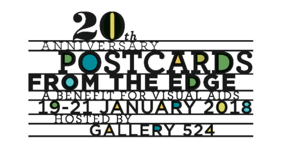 - Postcards from the EdgeJanuary 19th to 21st, 2018Hosted by VISUAL AIDS at Gallery 524, NYC