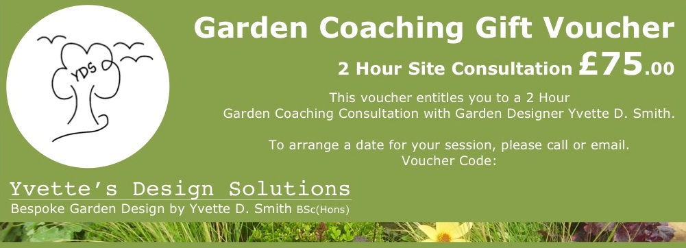- Looking for advice on how to make the most of your existing outdoor space without commissioning a full redesign?Garden Coaching sessions provide just that, and make the perfect alternative gift too. With 3 session types to choose from and options for stand-alone or repeat visits, these are suitable for gardens of all shapes and sizes.