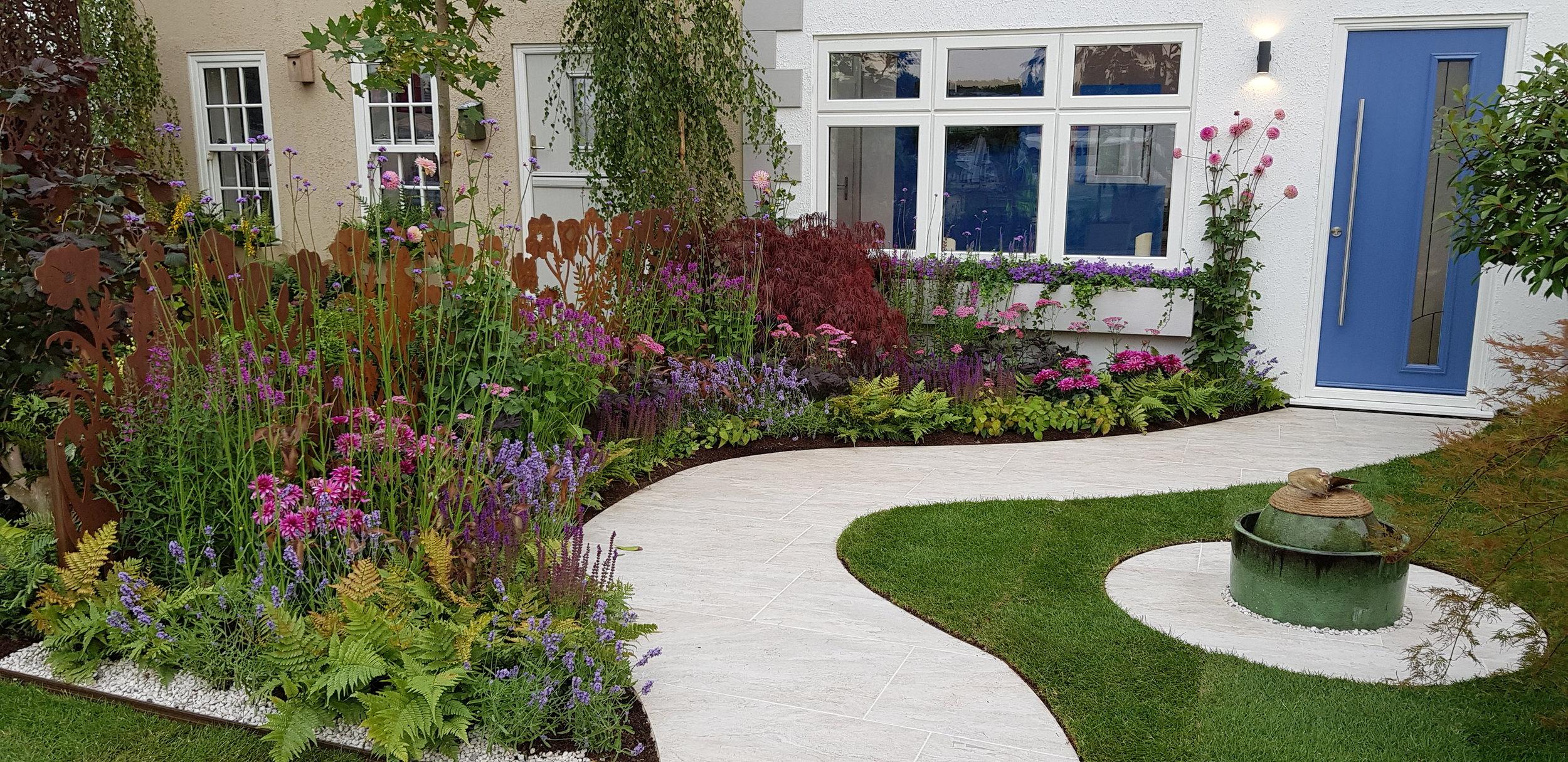 Mesothelioma UK Garden