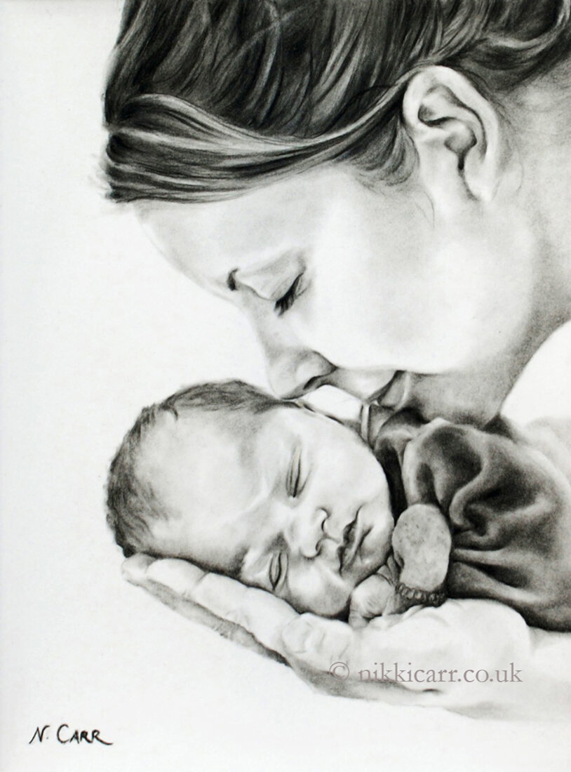 COMMISSIONS - A commission is the ultimate gift. It is a true collaboration between the artist and the client. Get the conversation started to commission a beautiful portrait in charcoal or in oil of various sizes and composition, including portraits of children, adults (individuals or family groups), pet and equine portraits. Still life commissions are also welcome.