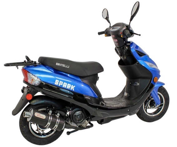 CRUISE BRIGANTINE IN STYLE. - Our scooters are BRAND NEW - 2019 Bintelli Spark's. Fully automatic transmissions and completely street legal.