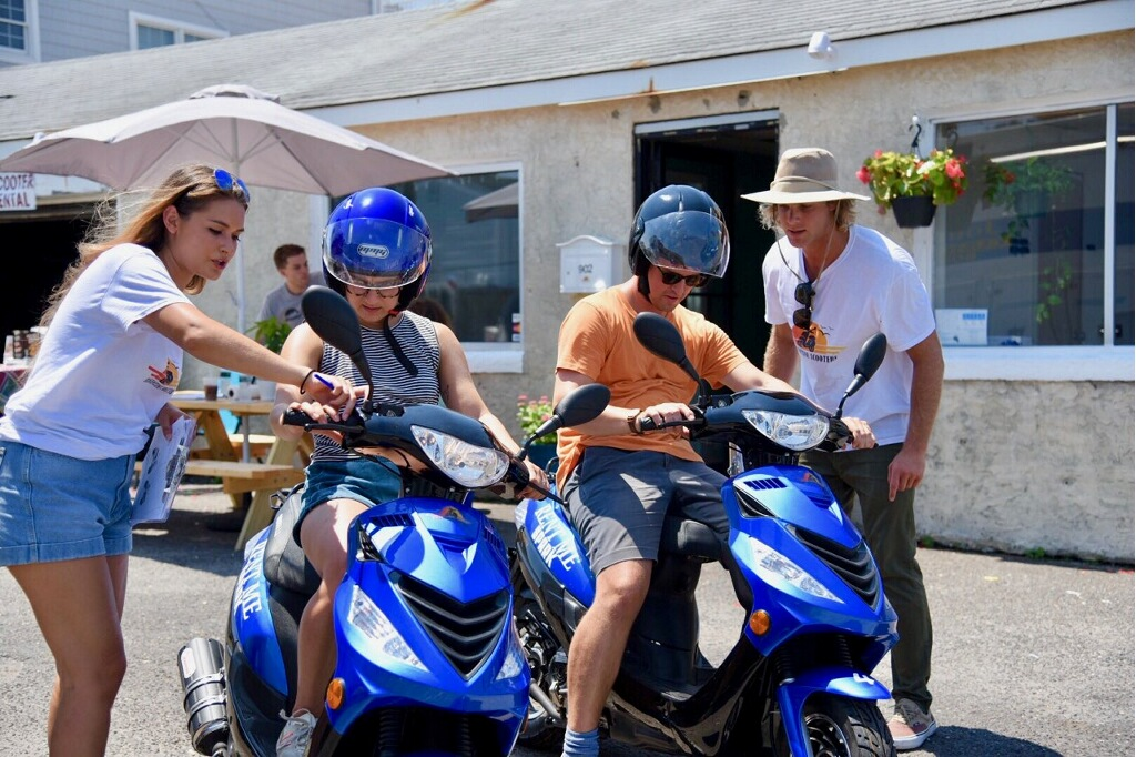 Your safety is our top priority. - We take our time, catering to each individual. Whether you're a seasoned rider or a first time beginner, we spend the time you need to get you up to speed and comfortable exploring the island! We never count lessons toward your rental time, the clock doesn't start until you're comfortable riding!