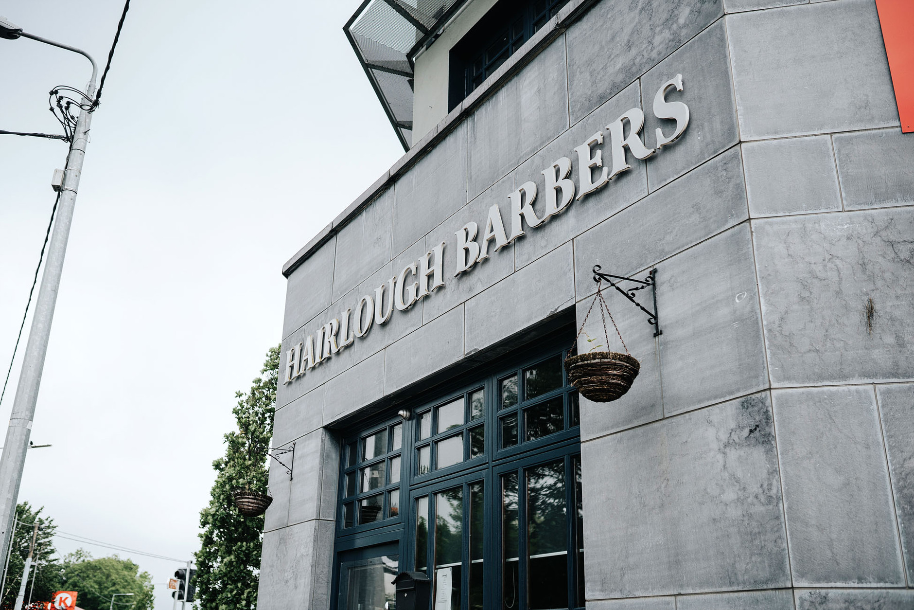 Hairlough Barbers Building in Dublin