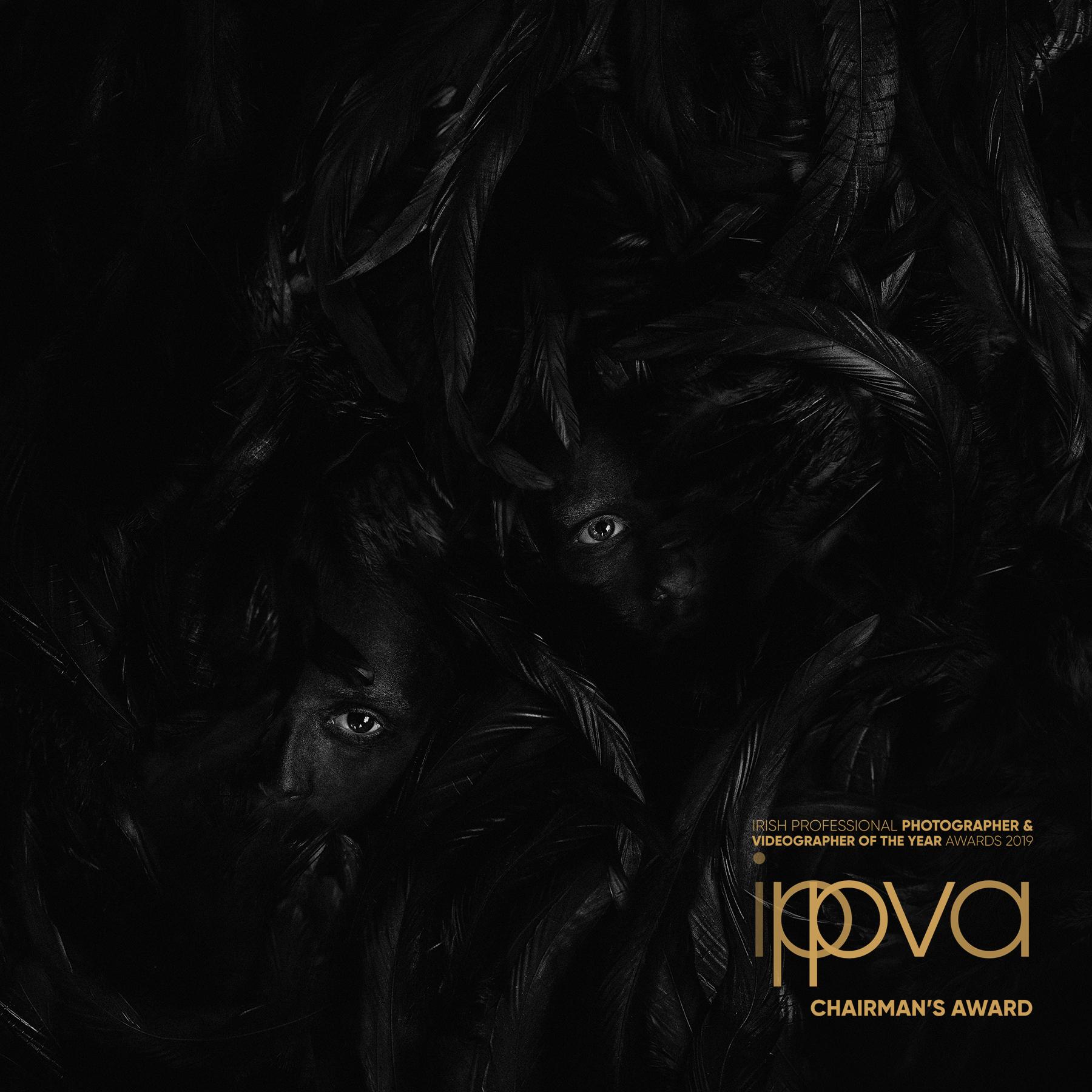 "IPPVA Chairman's Award 2019 for Fine Art Portrait titled ""Silence"""