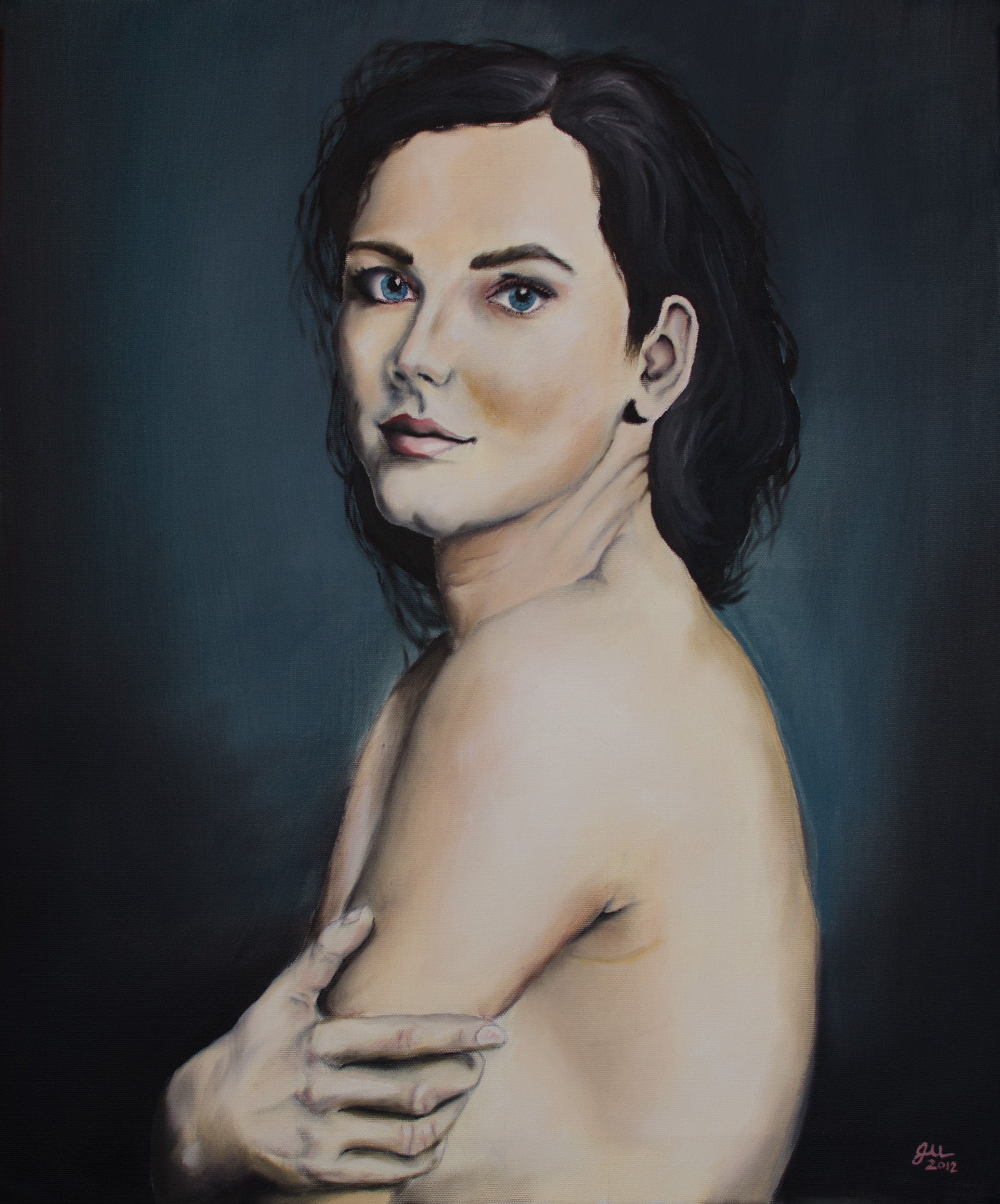 """UNTITLED   Oil on canvas, 20x24"""", 2012"""