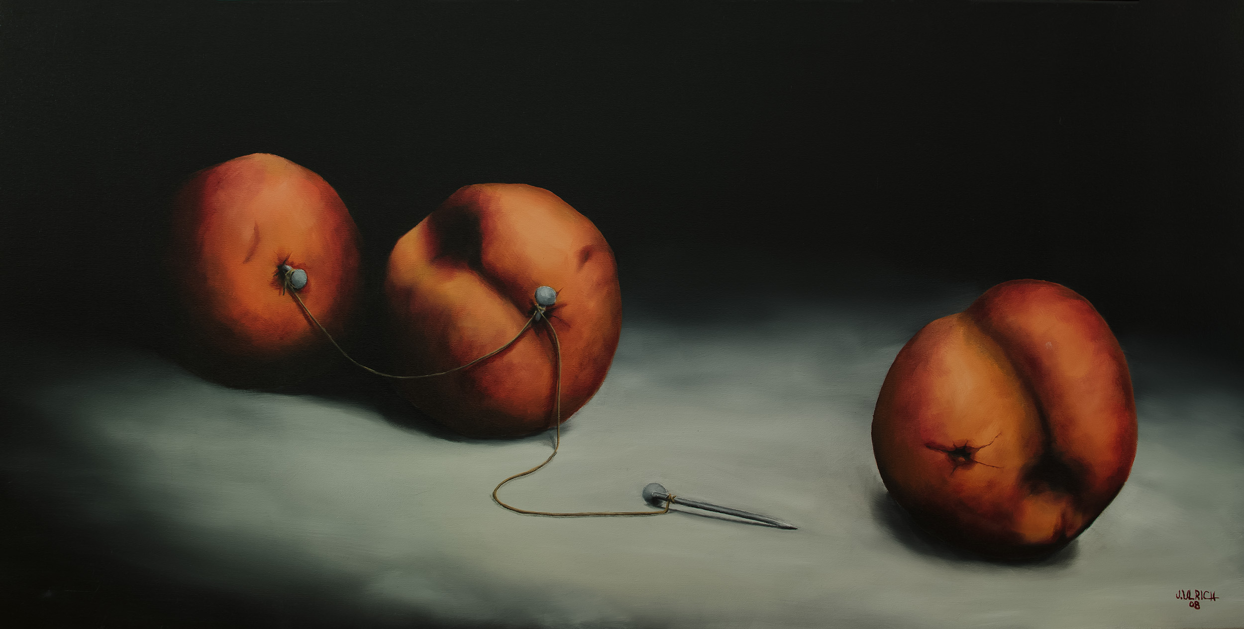 """REJECTED   Oil on canvas, 24x48"""", 2008"""