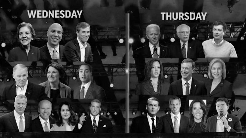 Democratic Candidates for POTUS 2020