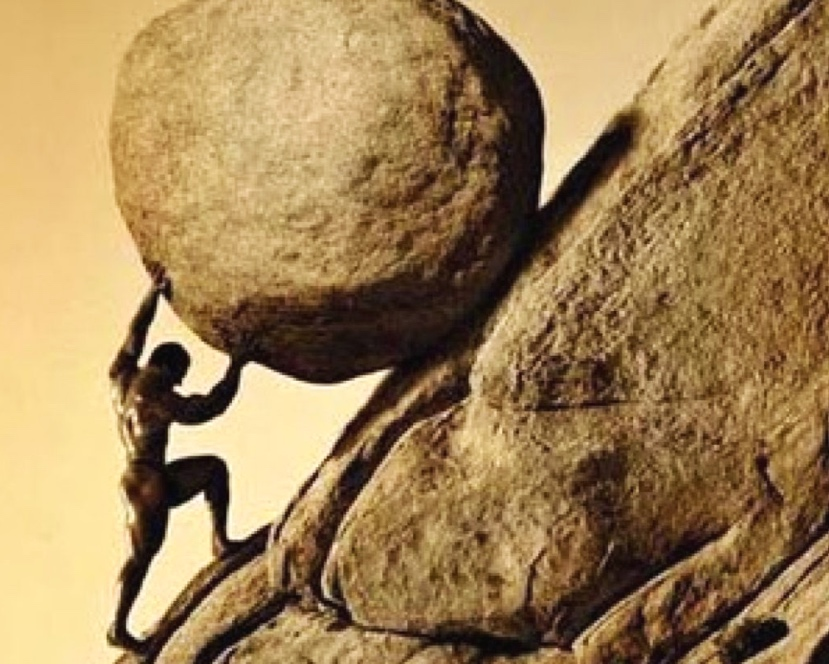 The myth of Sisyphus: It's not what happens to us that matters; what matters is our attitude towards what happens