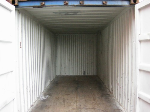 40ft Storage Category interior