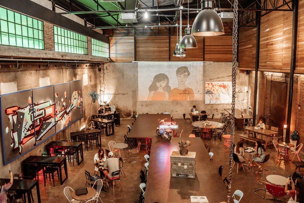 Cà phê Daelim Changgo ở Seoul