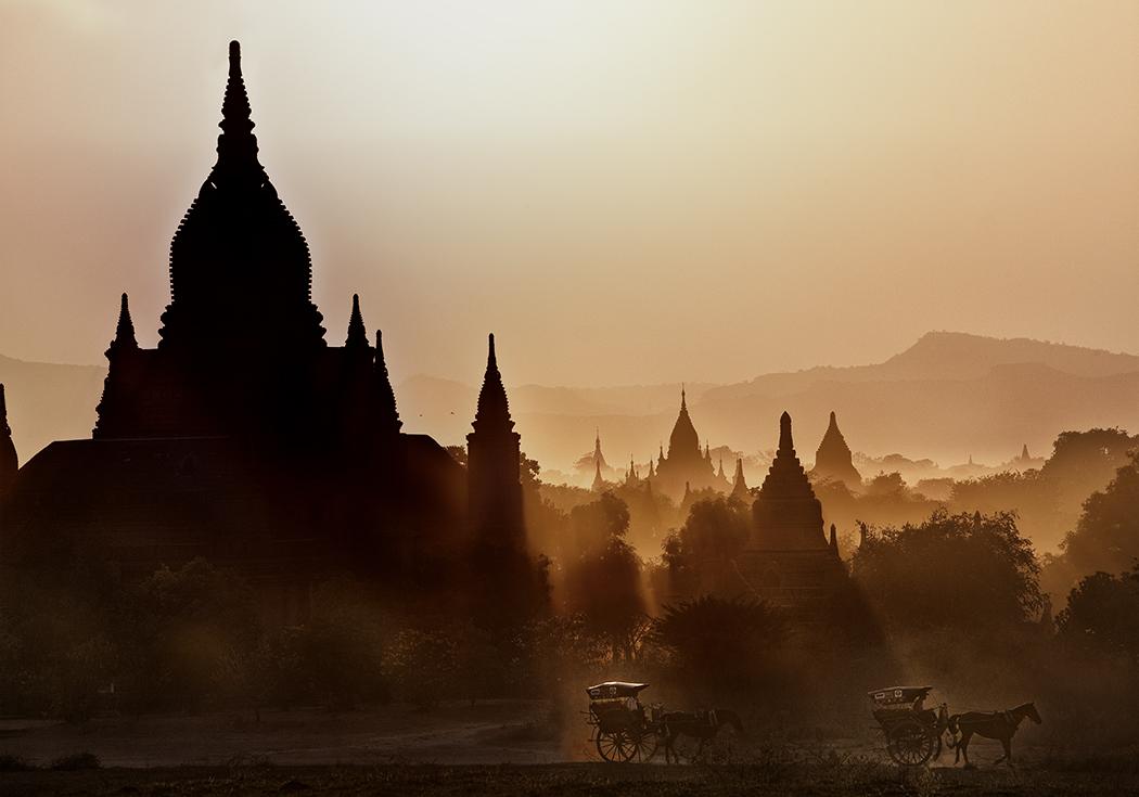 Bagan Carriage in Sunlight