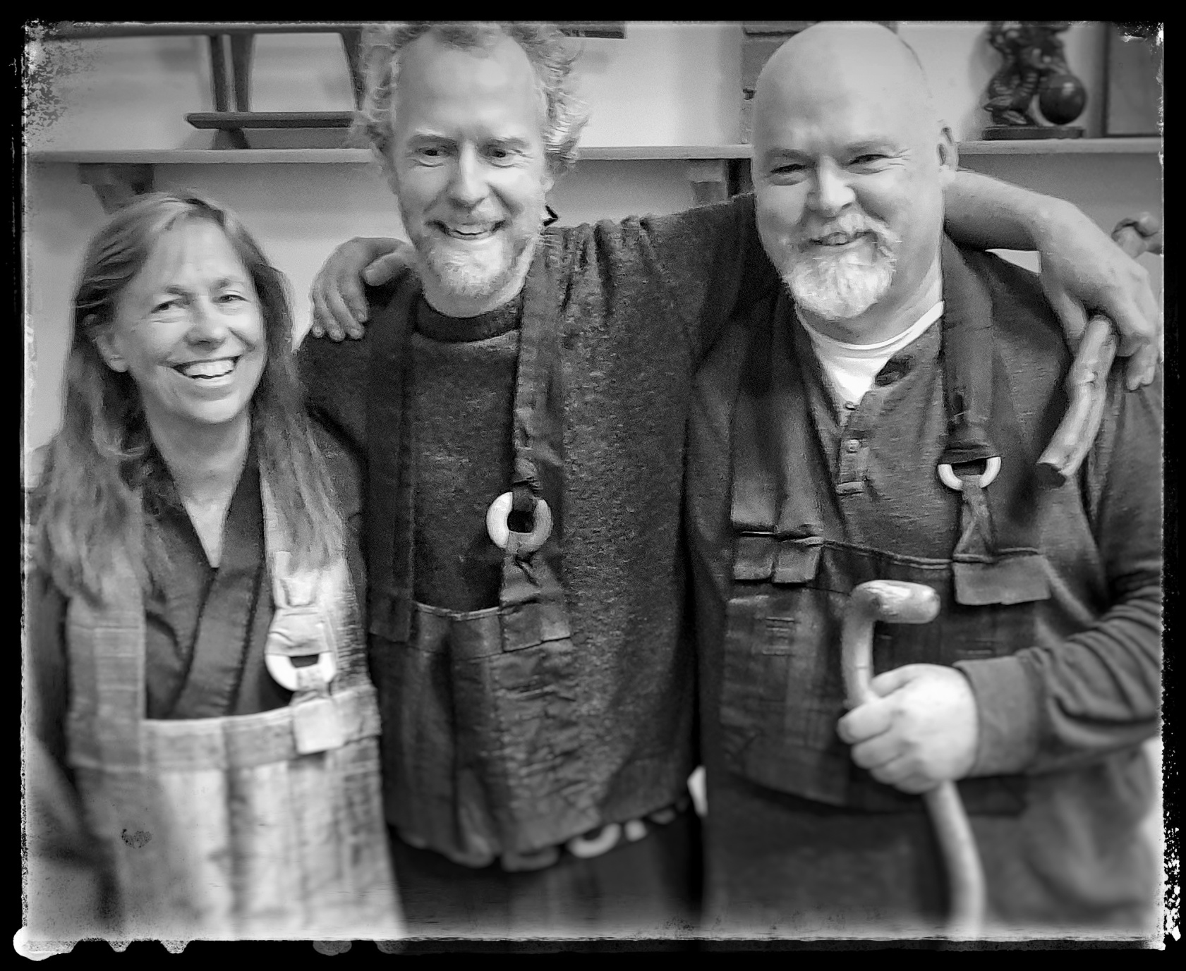 Susan Murphy Roshi, Kynan Sutherland Sensei and Kirk Fisher Sensei. Photography by Ron C. Moss