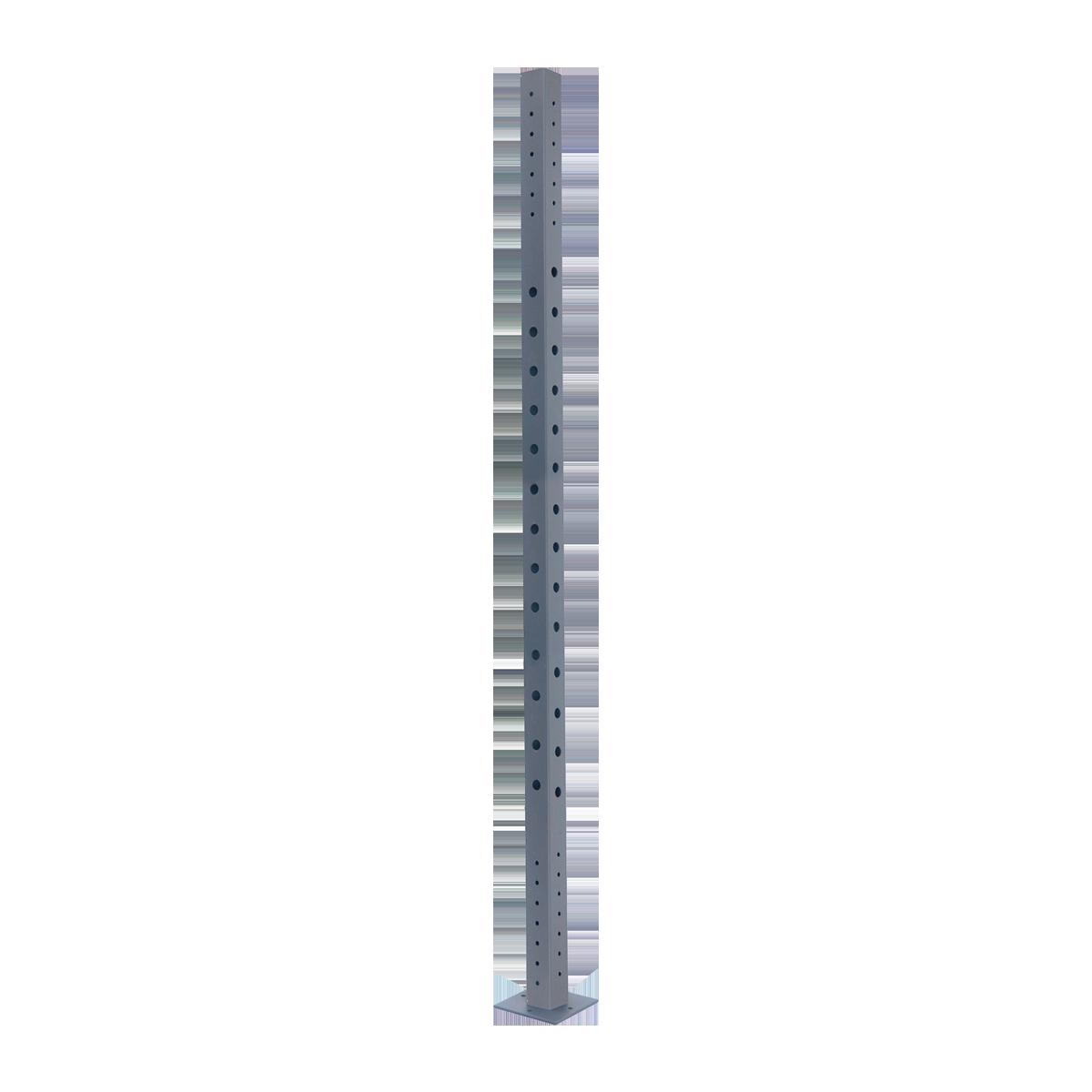 Κολόνα 80x80x3 x 2700mm με πέλμα