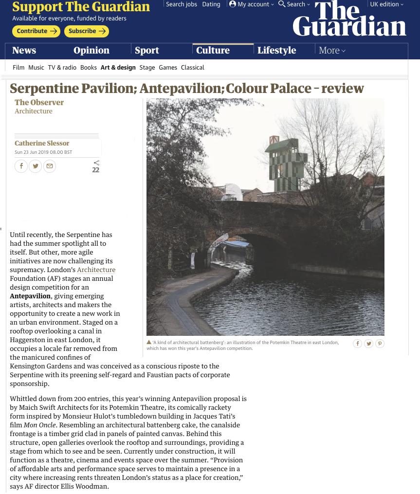 Until recently, the Serpentine has had the summer spotlight all to itself. But other, more agile initiatives are now challenging its supremacy…  | 23 June 2019