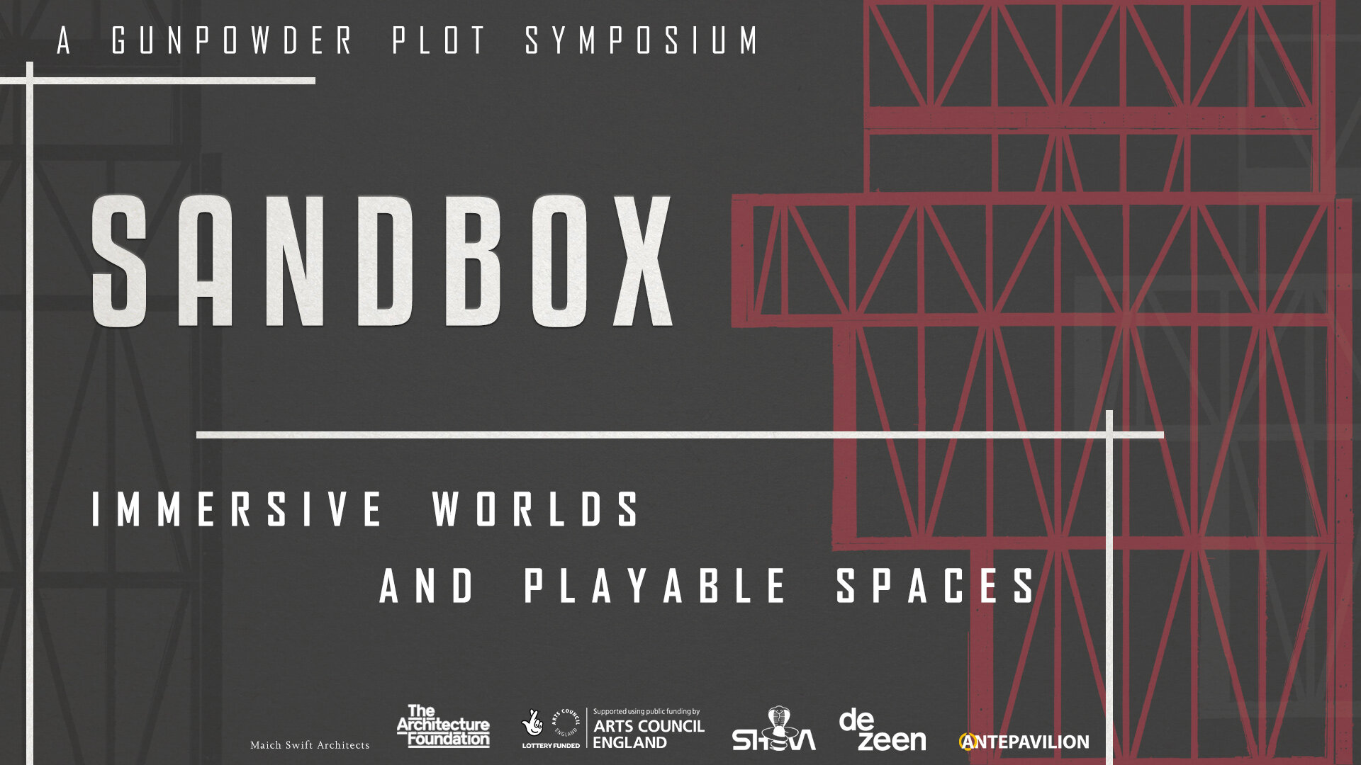 SANDBOX: Creating, Immersive Worlds and playable spaces - Bringing together professionals working across the whole spectrum of immersive performance…