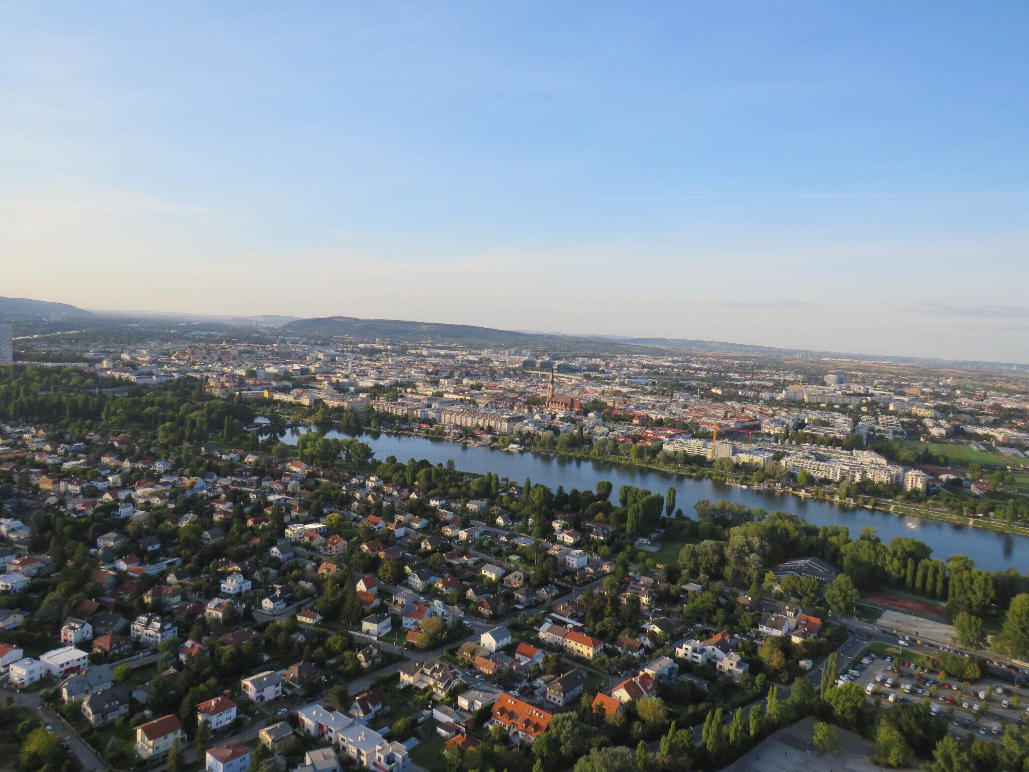 Danube Tower View