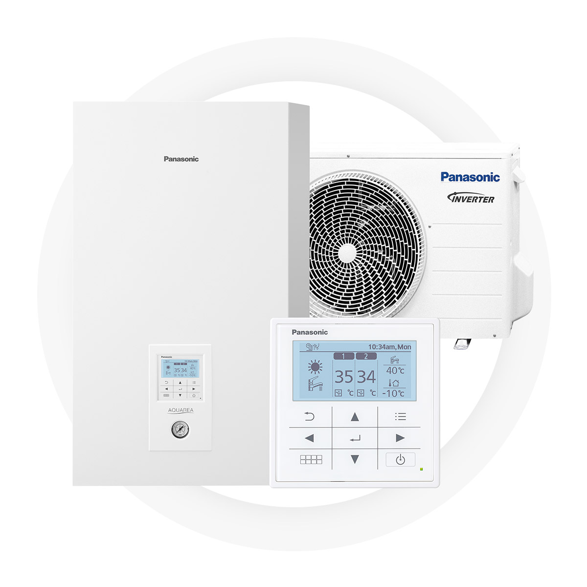 Panasonic t-cap - Significant savings on energy bills – up to 78% less100% efficiency even at -20°C ambient temperaturePossible to integrate to an existing heating systemCreated for Nordic climate and tested at -27°C5-year full factory warranty by Panasonic