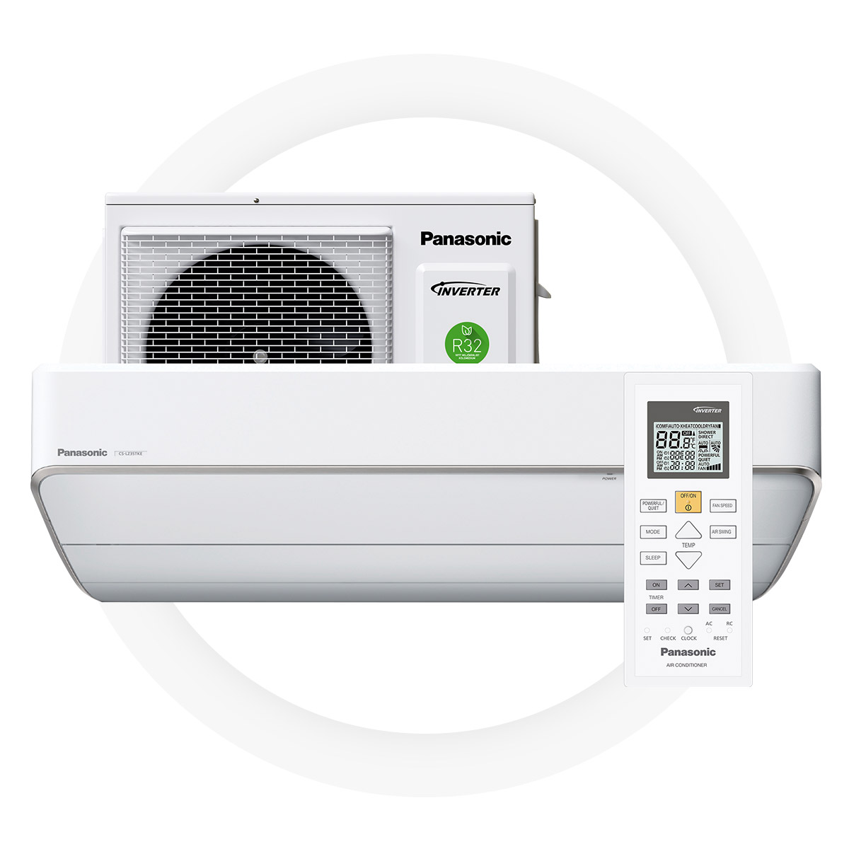 Panasonic lz25-TKE - High Seasonal Coefficient of Performance of 5,0 generates remarkable savingsA++ energy efficiencyEfficient and reliable even at -35°C ambient temperatureSuperbly silent work mode – only 18 dB5 year full factory warranty by Panasonic