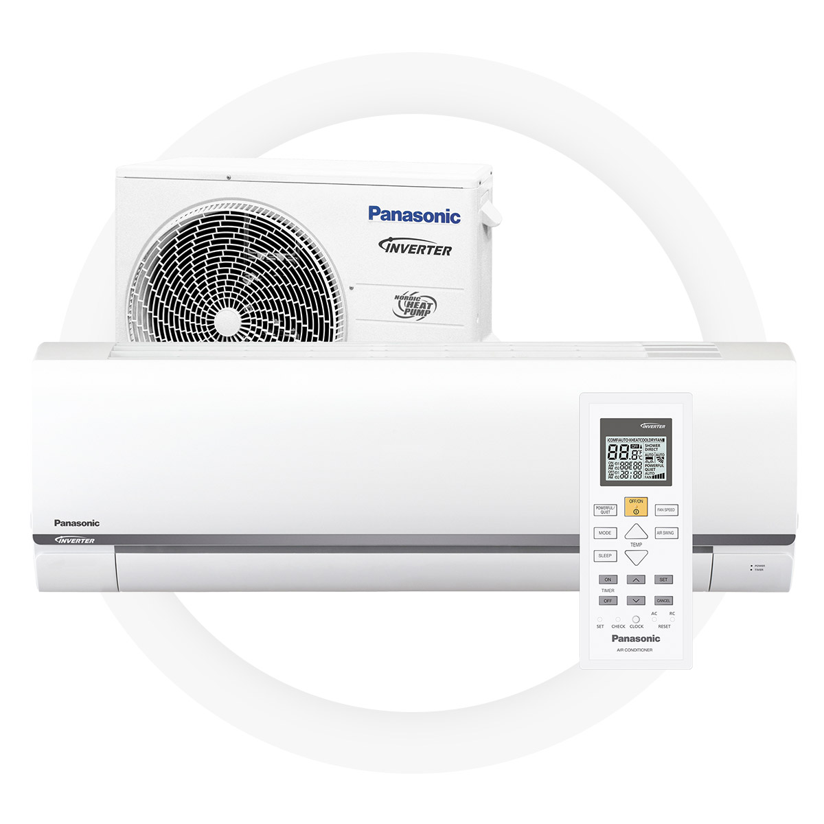 Panasonic cz25-tke - Good SCOP 4,1 offers significant savingsGreat energy efficiency on heating – A++l+8/+15°C temperature maintenance modeSilent work mode – 21 dBEnvironmentally friendly R32 cold medium5 year full factory warranty by Panasonic