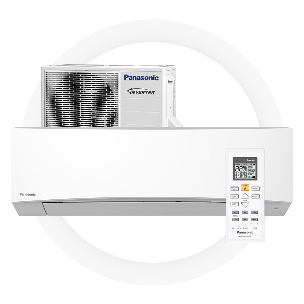 PANASONIC TZ25-TKE - High SCOP 4,2 offers significant savingsGood energy efficiency on heating – A+Silent work mode – just 20 dBEnvironmentally friendly R32 cold medium5 year full factory warranty by Panasonic