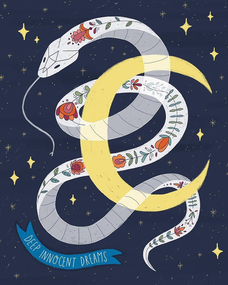 Folktale Week Illustrations -