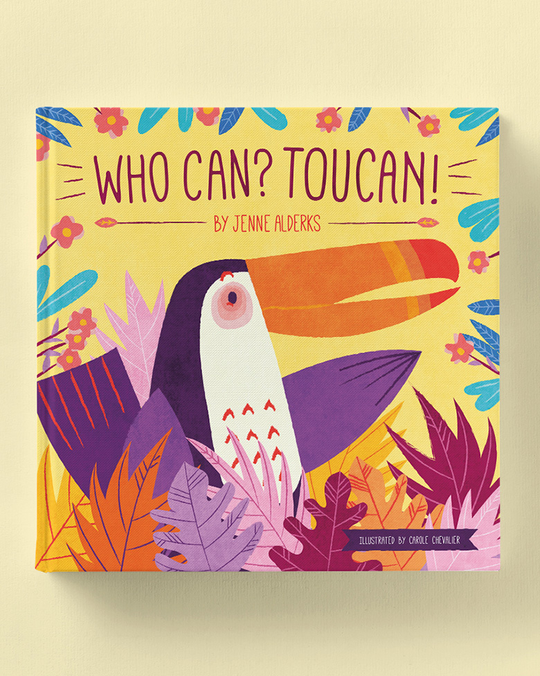 Who Can? Toucan! Children's Book -