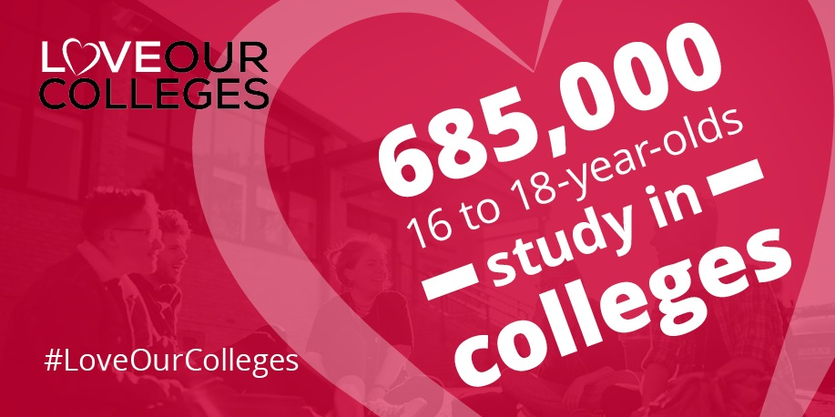 College key facts - 685,000 16 to 18-years-olds study in colleges.jpg