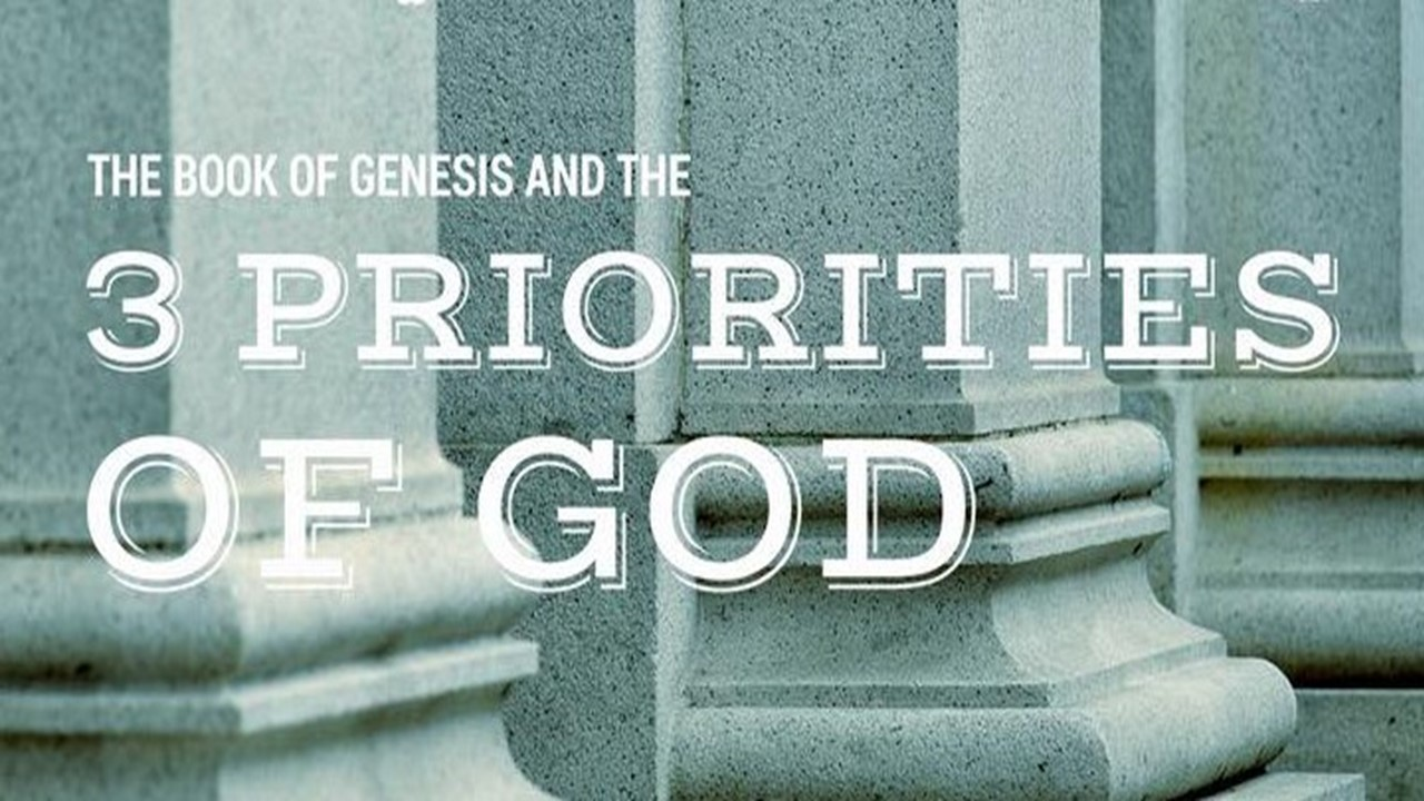 Listen in to learn more about the 3 Priorities of god -