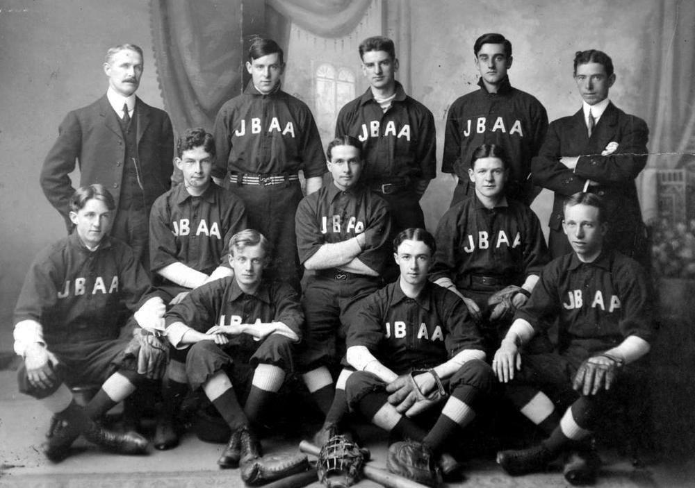 Early Lacrosse Team - circa 1917