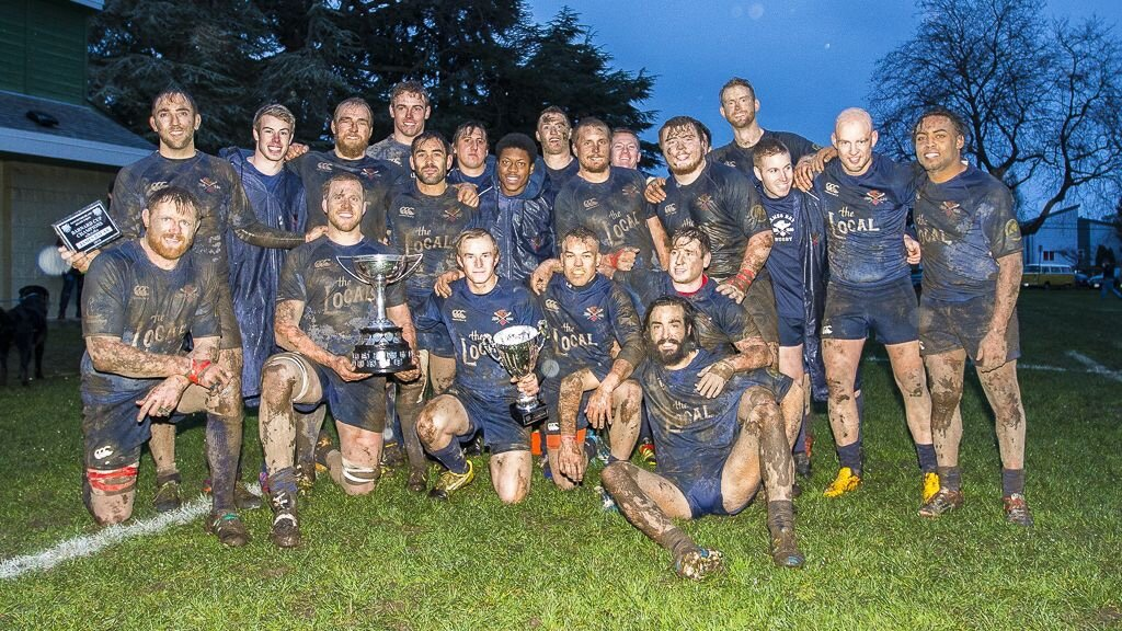Bay win the Barnard Cup December 2016 (photo courtesy of ISN)