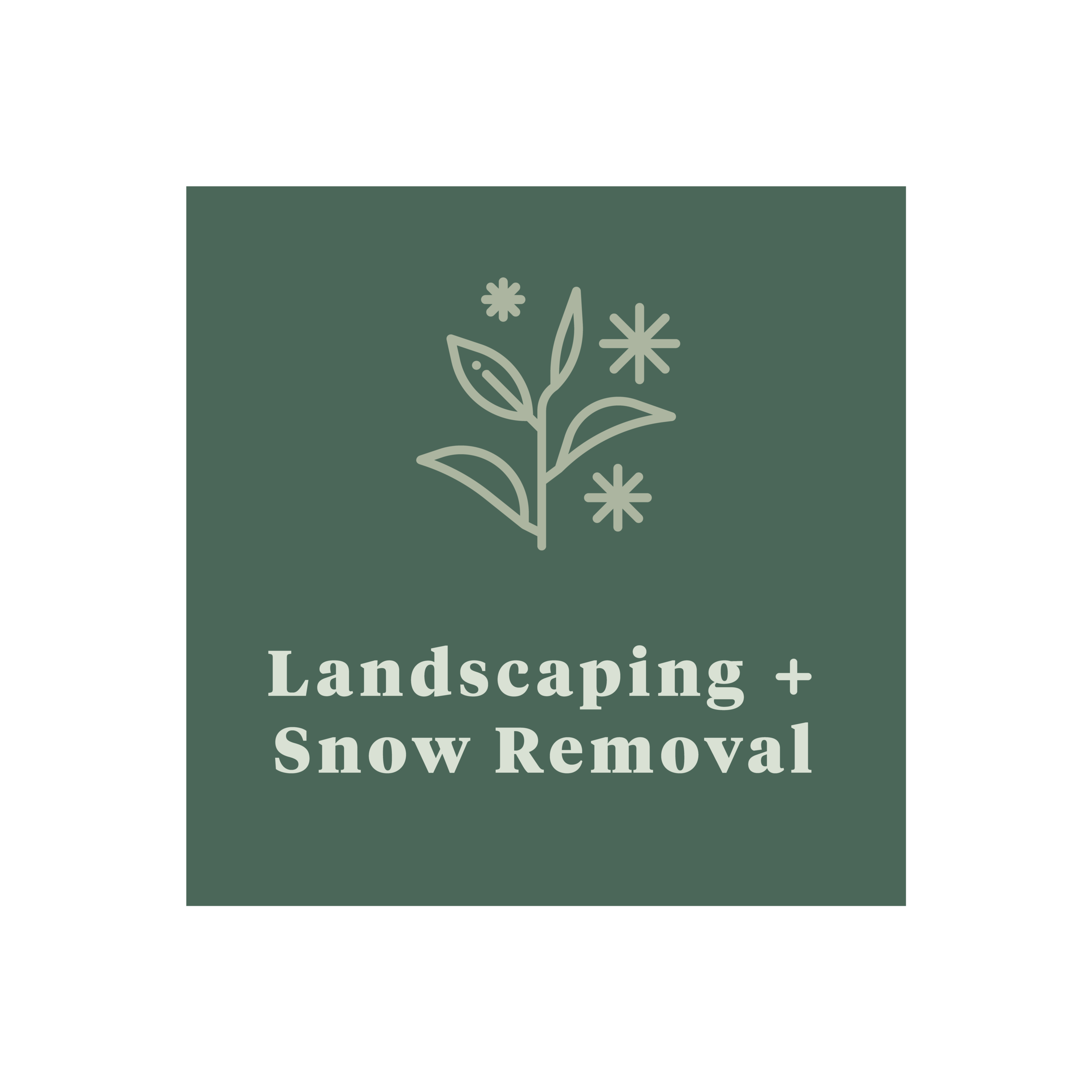 Park City Concierge Services - Landscaping and Snow Removal