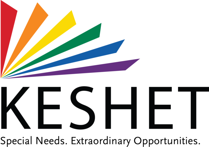 About KESHET - Keshet is a community-based, non-profit organization that offers educational, vocational, recreational and residential programs for children, teens and adults with intellectual and developmental disabilities. Over 600 people with disabilities, ranging in age from 3 through adulthood, benefit directly from Keshet's support. Keshet values each individual and tailors experiences to create purposeful and meaningful lives for those with disabilities. From Chicago- and Midwest-based programming at over 70 sites to international consultations, Keshet strives to meet its most important mission:To do whatever is necessary to allow individuals with disabilities to achieve their potential in their home communities.