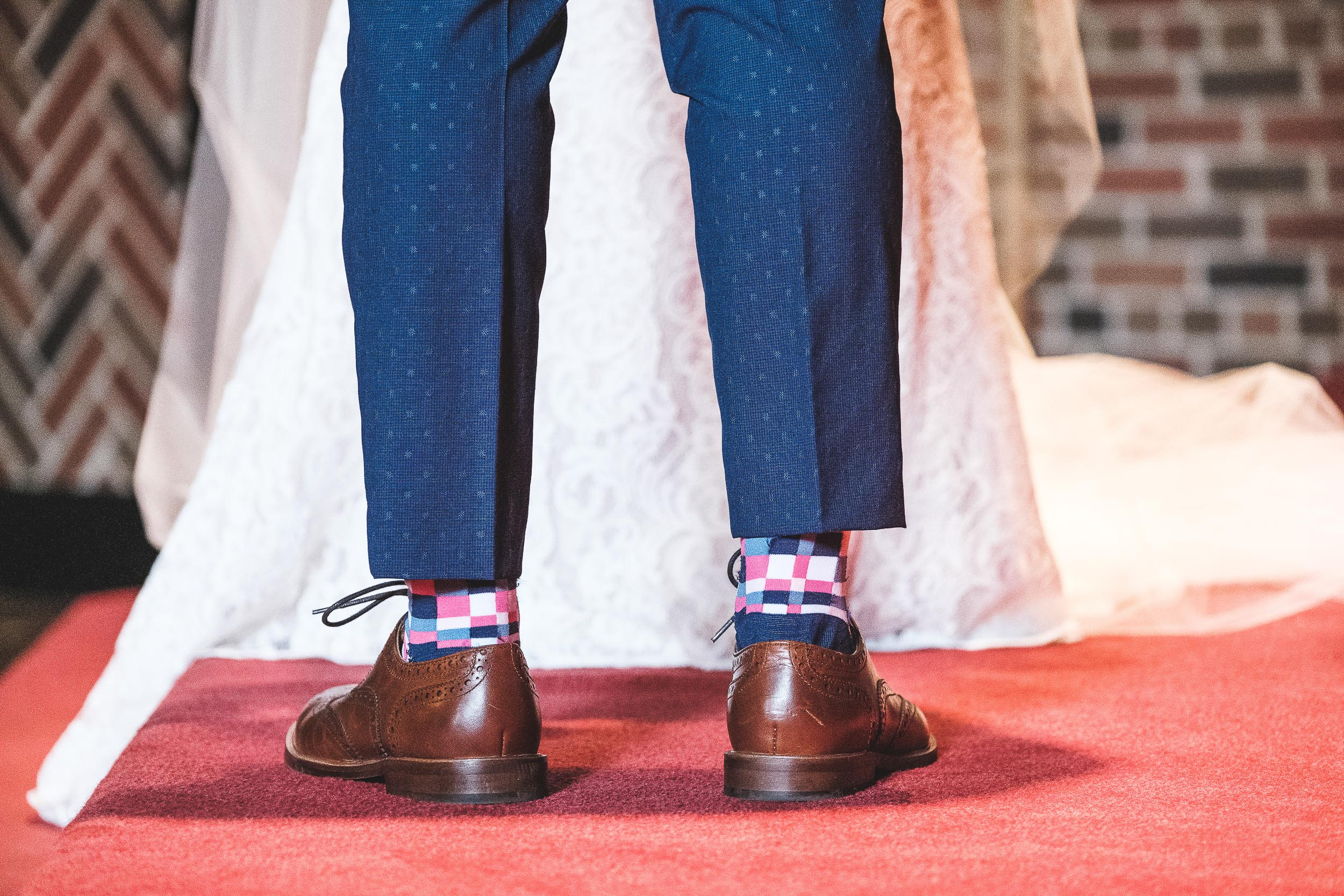 FumioWeddings- Bride Snazzy socks_shoes Old Mill