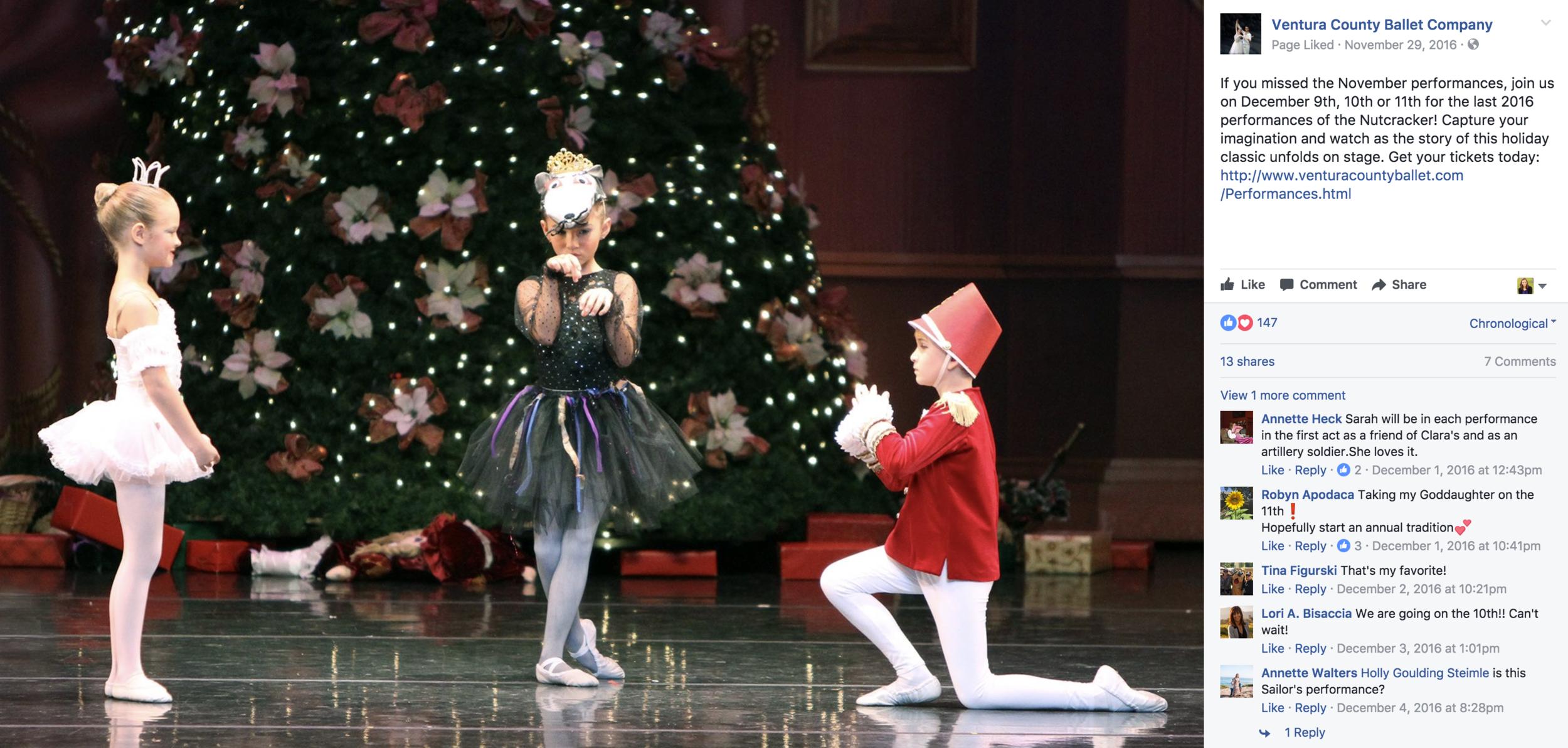 ballet content creation