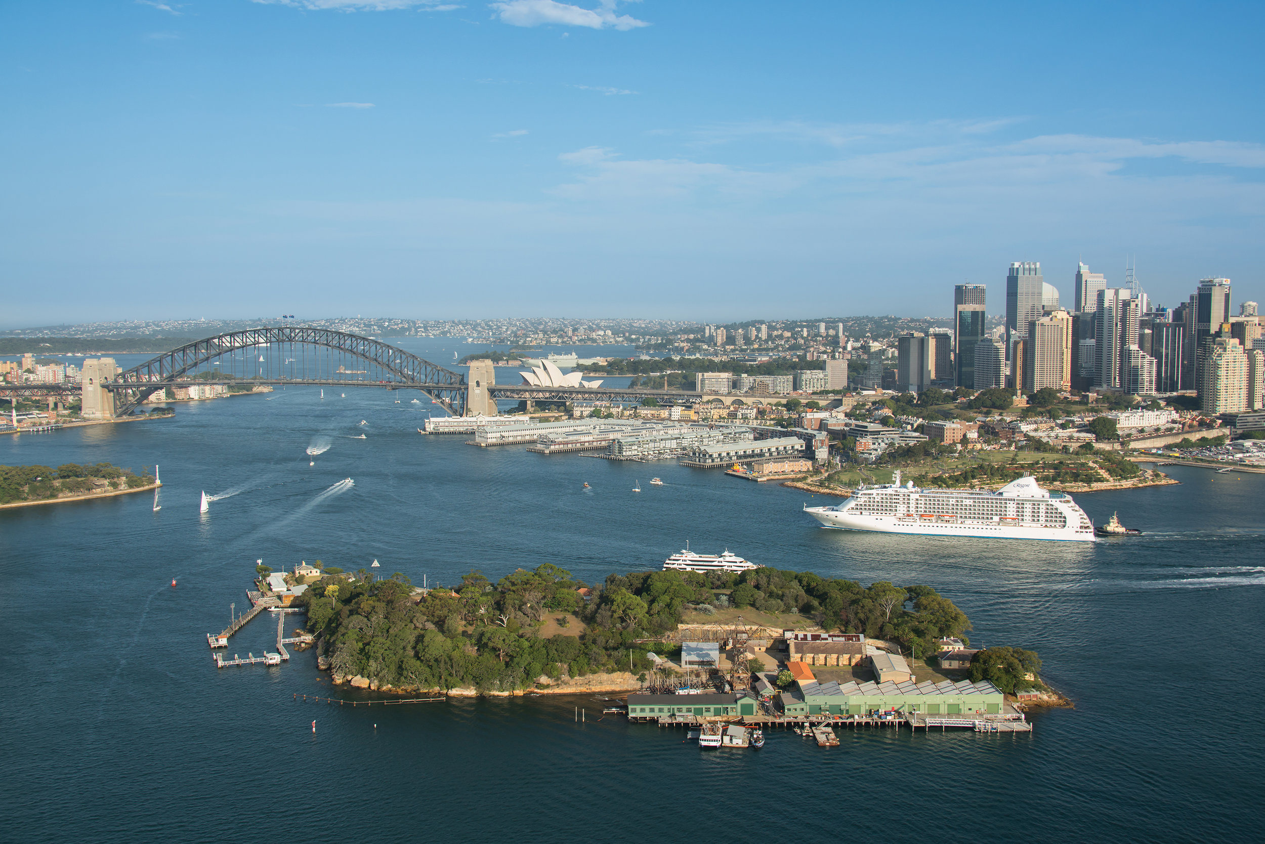 Regent Cruise Sydney Harbor