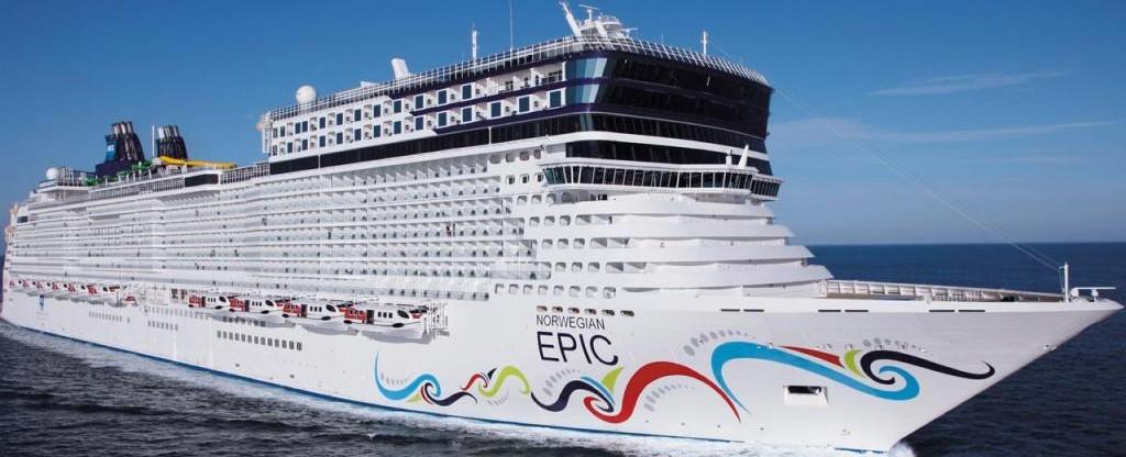 Nowegian Epic Cruise Ship