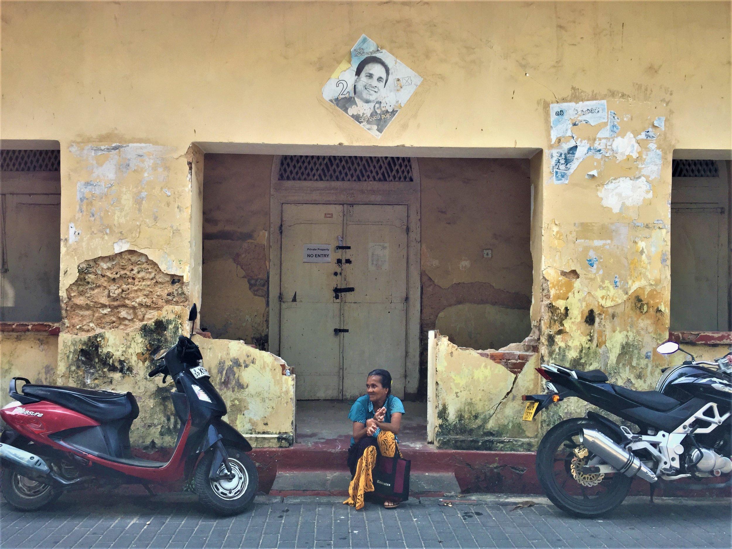 Person in Sri Lanka