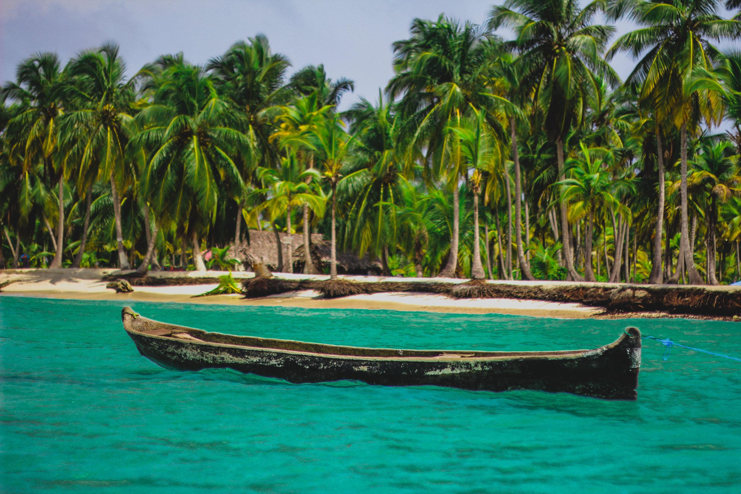 Boat in Panama