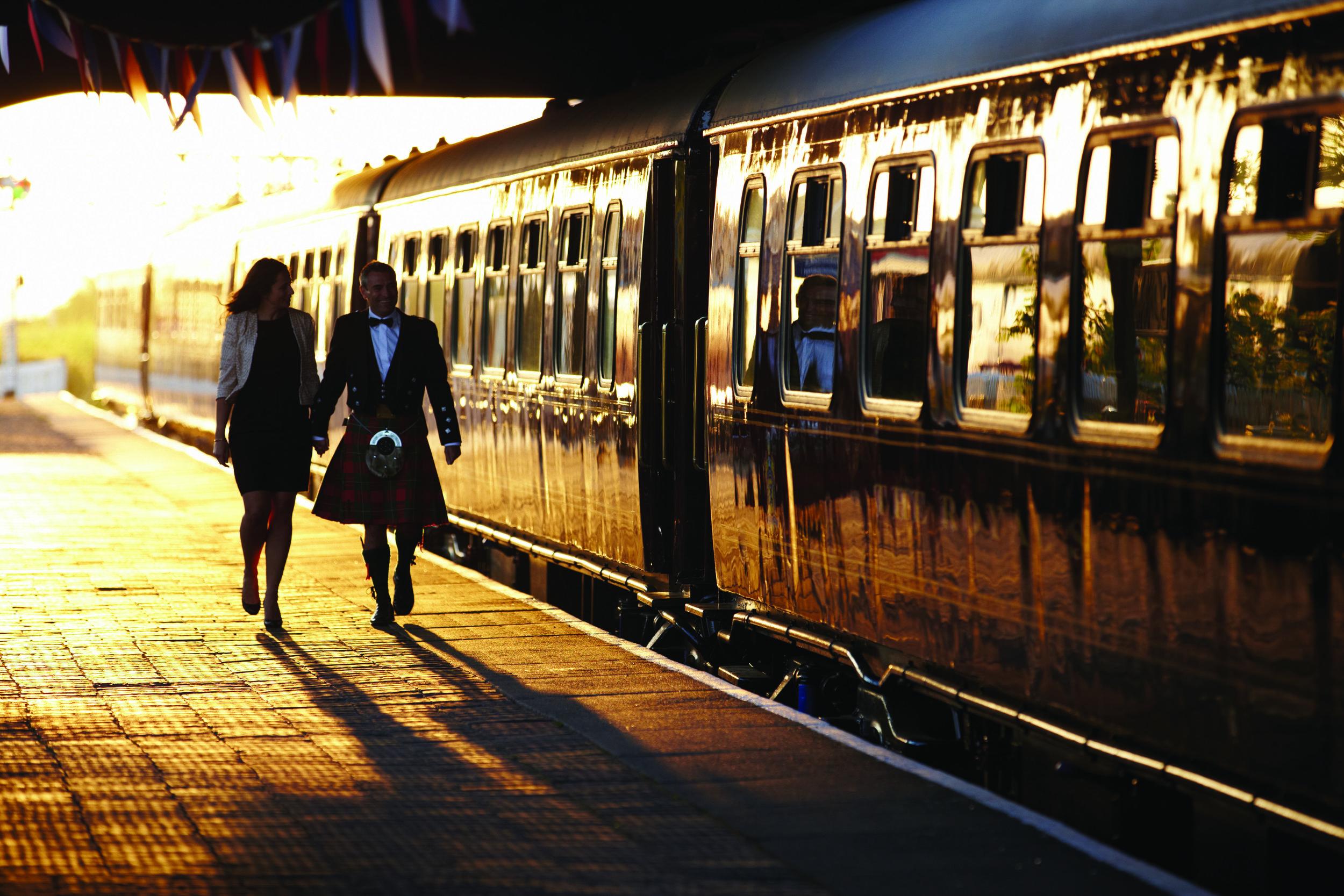 The Royal Scotsman Train