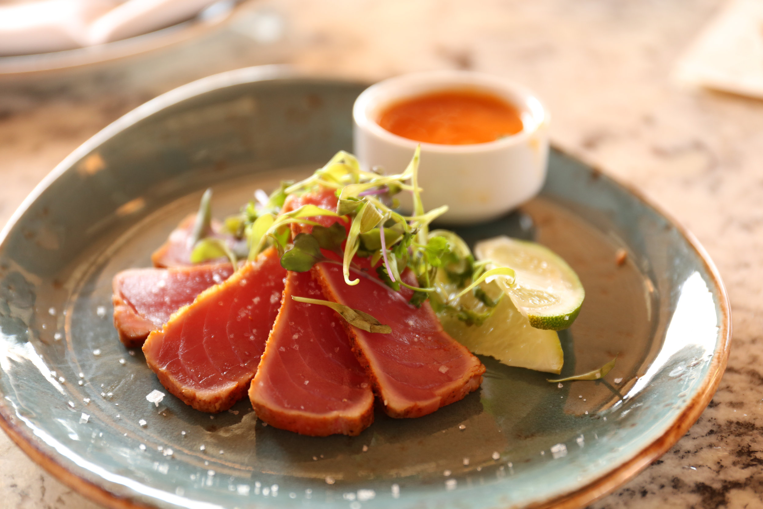 Rare Tuna Dinner