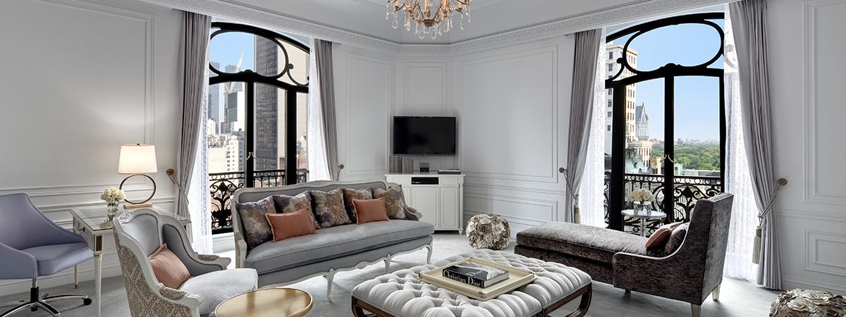St Regis New York Suite