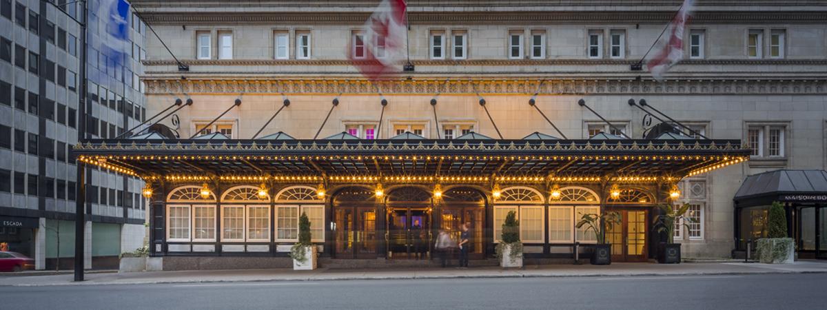 Ritz-Carlton Montreal Exterior