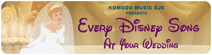 Komodo Music Banner- Disney Songs blog